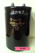 HITACHI HCG FA 63V 47000UF//MFD 50*105 Bolt Electrolytic capacitor #G5595 XH
