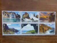 PITCAIRN Is 2016 SHEETLET 6 LANDSCAPES MINT STAMPS