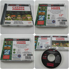 BRAND NEW Cannon Fodder Commodore Amiga CD32 Game from Sensible Software