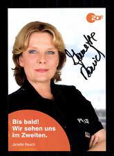 Janette Rauch Notruf Hafenkante Autogrammkarte Original Signiert # BC 105017