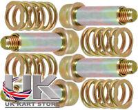 Brake Pad Premium Return Bolts, Sleeves & Spring Set x 4 UK KART STORE