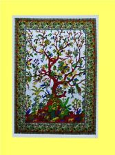 Indian Wall Tree Of Life Poster Hanging Tapestry Decor Cotton Hippie Bohemian