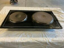 Jenn-Air stove parts - range element cartridge with 2 solid burners - Model A105
