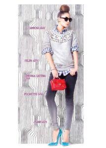 Denny Rose Art.6160 Camicia scozzese Collez.Primavera 2013