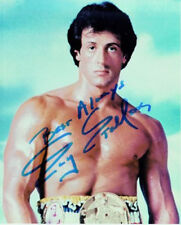 Autographs Photo Images 25000+ 2 Dvd Celebrity Autographed rocky stallone