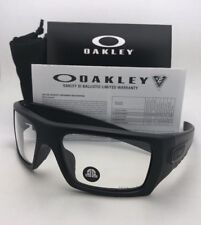 OAKLEY INDUSTRIAL DET-CORD Safety glasses OO9253-07 Matte Black w/ Clear Z87.1
