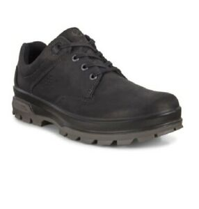 Ecco Men's Rugged Track Outdoor Shoes - 838094-02001 Black NIB