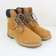 Timberland Women's Wheat Nubuck Premium Boots Size 8