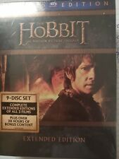 The Hobbit Trilogy (Blu-ray Disc, 9-Disc Set, Extended Edition)