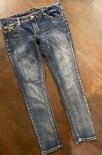 Women's AMETHYST Flap Pocket Skinny Jeans Size 13