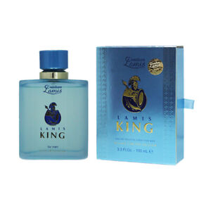 Lamis King Mens 100ml EDT Deluxe Limited Edition