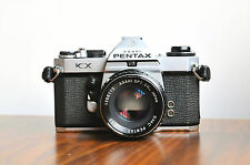 PENTAX KX   w/ Pentax 55mm f/1.8 , 35mm SLR Camera    * Good User/Read *