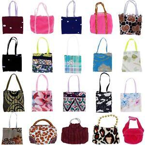 15 Random Fashion Lady Daily Purse Bag Handbag Accessory Clothes for 12 in. Doll