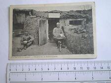 WWI 1916 ARMY photo Austria Hungary officer Offiziervilla Schützengraben K.u.K.