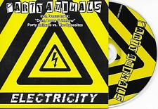 PARTY ANIMALS - Electricity CD SINGLE 4TR Happy Hardcore gabber 2008 HOLLAND