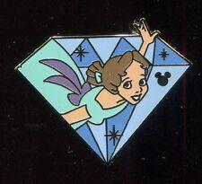 Dlr 2015 Hidden Mickey Diamond Characters Wendy Disney Pin 112221