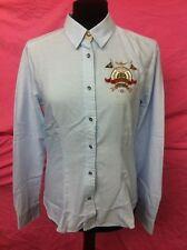 Camicia celeste da donna, del marchio Aeronautica Militare, new modello CA 581 D