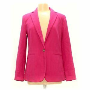 Ann Taylor Women's Blazer size 8,  pink,  rayon, polyester, spandex