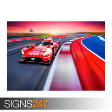 NISSAN GTR LM NISMO 2015 (0068) Car Poster - Photo Poster Print Art * All Sizes