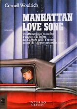 CORNELL WOOLRICH MANHATTAN LOVE SONG INTERNO GIALLO 1989