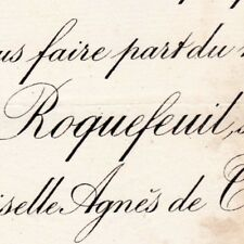 Raymond Marie De Roquefeuil-Montpeyroux Tregnier 1889 De Terves