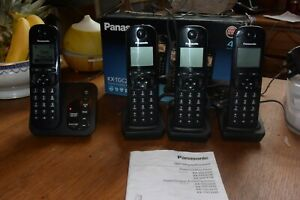 Panasonic Telephone and Digital Cordless Answering System,4 Handsets KX-TGC224