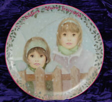 Kindred Moments Plate SISTERS SHARE TRIUMPHS Eleventh 11th Chantal Poulin 1997