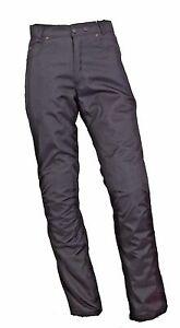 Motorradhose mit Protektoren,Textiljean,wasserdicht,atmungsaktiv,Extra lang