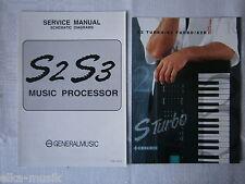 GEM Generalmusic S2 /3 Schaltbild und Prospekt original NEU