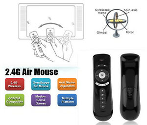 Gyroscope Mini Fly Air Mouse T2 Wireless 3D Remote Sensing For Android TV Box Yu