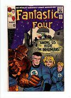 Fantastic Four #45 VINTAGE Marvel KEY 1st Inhumans & Lockjaw, Brief Black Bolt