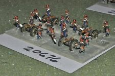 15mm napoleonic russian artillery (as photo) {10} (20676)