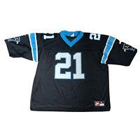 Nike Vintage Carolina Panthers NFL Black Jersey Shirt #21 BIAKABUTUKA Men's XL
