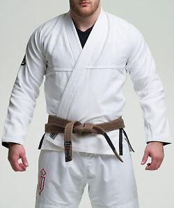 Gameness White Air Jiu Jitsu Gi