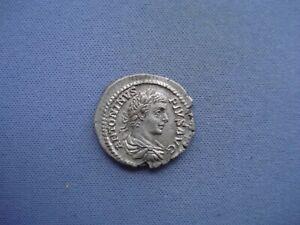198-217 AD - Roman Empire - Caracalla - AR Denarius - 120-446