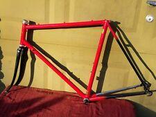 Marinoni Columbus SL Bike Frame & Fork 700c Shimano 600 Rare 1990's Vintage Red!