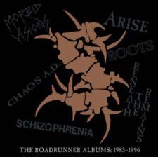 SEPULTURA The Roadrunner Albums 1985 - 1996 6CD NEW BOX SET