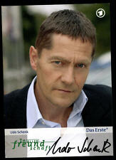 Udo Schnek In aller Freundschaft Autogrammkarte Orignial Signiert # BC 51239