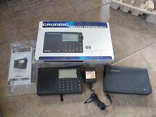 Grundig G5 AM/FM Shortwave Receiver Works