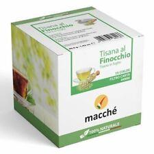 360 Dosettes Filtre Papier 44MM Macchè'Tisane Fenouil en Feuilles Originales