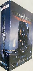 Limited Edition 0021/30000 The Terminator Trilogy(Dvds-3 Movies) + Free Postage