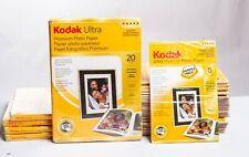 NEW Kodak Ultra Premium Photo Paper 5x7 (5 packs) & 4x6 (23 packs)High Gloss