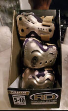 Rd Roller Derby Pad set Youth Age 5-10 Beige color knees, elbows, palms