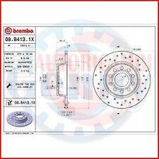 BREMBO 08.B413.1X 2X COPPIA DISCHI FRENO XTRA per SEAT ALTEA (5P1)