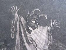 Pierre Charles BAQUOY (1759-1829) GRAVURE XVIII RUSE d'AMOUR DEGUISEMENT DIABLE