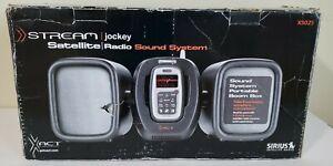 XACT XS025 SIRIUS Satellite Radio Portable Boom Box