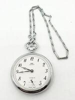 Orologio ANTONY da tasca carica manuale Cal U 6431.6445 Ferrovie dello stato ...