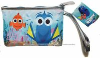 SOHO BEAUTY Disney FINDING DORY Nemo COSMETIC BAG Zippered POUCH/COIN PURSE New!