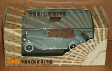 1/43 Scale 1938 Salmson S4E Convertible Diecast Model Car - IXO MUS038 Blue