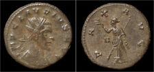 Claudius II Gothicus billon antoninianus Pax walking left